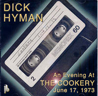 CD Cover - Dick Hyman, An Evening at The Cookery - June 17,1973.