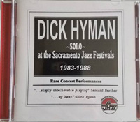 Dick Hyman Solo at the Sacremento Jazz Festivals 1983 - 1988