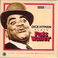 CD Cover - Dick Hyman Plays Fats Waller
