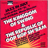 CD Cover - The Kingdom of Swing and The Republic of Oop Bop Sh'Bam