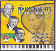 CD Cover - The Piano Giants at Bob Haggart's 80th Birthday Party
